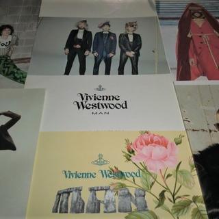 ヴィヴィアンウエストウッド(Vivienne Westwood)のインポート希少ヴィヴィアンMANルックブック他6冊カタログ(ノベルティグッズ)