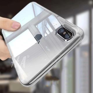 iPhone - クリスタルクリア iPhoneケース 強化ガラスセット iPhone XR