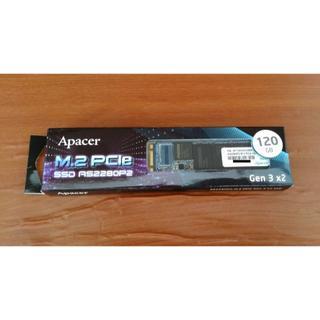 Apacer AS2280P2 120GB M.2 PCIe Gen3×2(PCパーツ)