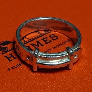 エルメス(Hermes)のエルメス シルバー リング*49*シャネル ヴィトン ロロピアーナ フォクシー(リング(指輪))