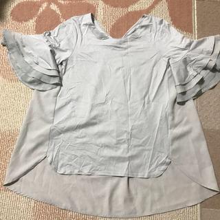 アネラリュクス(ANELALUX)の袖がかわいいトップス(カットソー(半袖/袖なし))