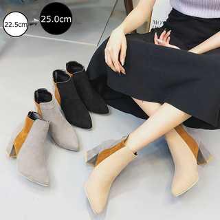 『激安販売』ブーツ ショートブーツ レディース ブーティー  韓国 歩きやすい(ブーツ)