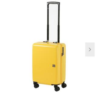 美品 ACE ZERO BRIDGE イエロー スーツケース(トラベルバッグ/スーツケース)