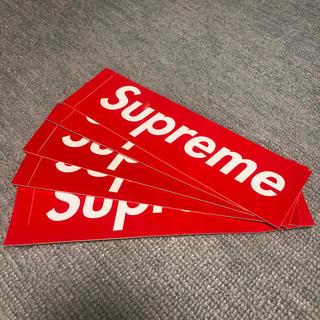 シュプリーム(Supreme)のsupreme ステッカー 5枚セット(ステッカー(シール))