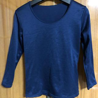 シマムラ(しまむら)のインナーシャツ、長袖、8部袖、裏起毛、M.しまむら(アンダーシャツ/防寒インナー)