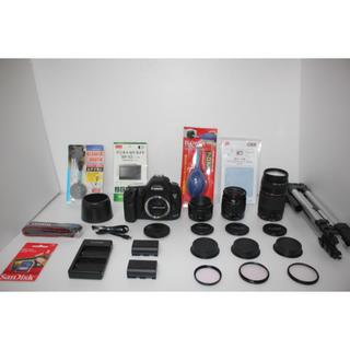 キヤノン(Canon)の❤️Canon EOS 5D MarkIII❤️トリプルレンズセット(デジタル一眼)