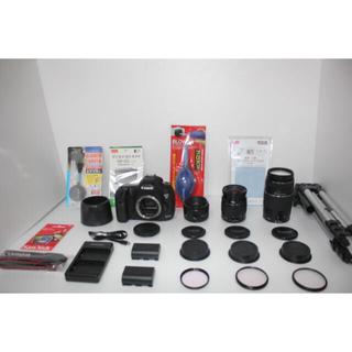キヤノン(Canon)の❤️高画質❤️Canon EOS 5D MarkIII トリプルレンズセット(デジタル一眼)
