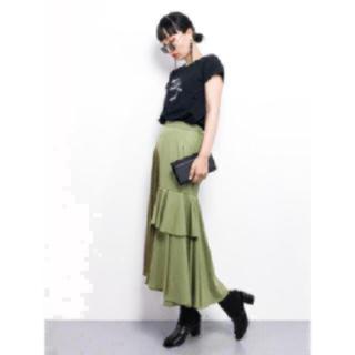 アメリヴィンテージ(Ameri VINTAGE)の  アメリヴィンテージ 完売 スカート カーキ(ロングスカート)