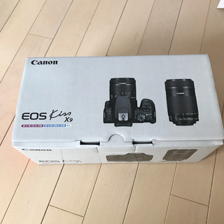 Canon - Canon EOS Kiss X9 ダブルズームキット