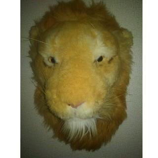ライオンの壁掛け(インテリア雑貨)