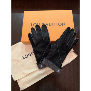 ルイヴィトン(LOUIS VUITTON)のLOUIS VUITTON 手袋 グローブ(手袋)