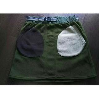 チャムス(CHUMS)のゴースローキャラバン ボアスカート(ひざ丈スカート)