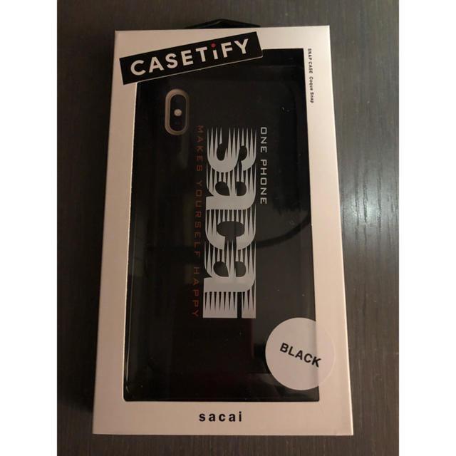 iphone7 ブランド / sacai - sacai casetify iphoneケース 黒の通販 by たか's shop|サカイならラクマ