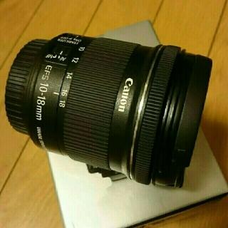 canon EF-S10-18 広角レンズ 純正