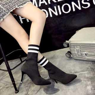 『激安販売』ブーツ ソックスブーツ レディースブーツ  靴 ショートブーツ (ブーツ)