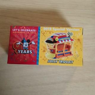 ミッキーマウス - 新作入荷♪ ディズニー トミカ ジョリートロリー  35周年 90周年