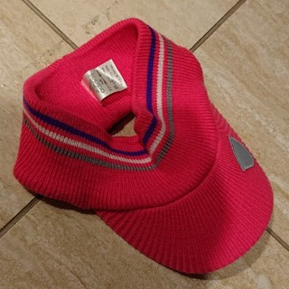 美品アディダスゴルフニット帽