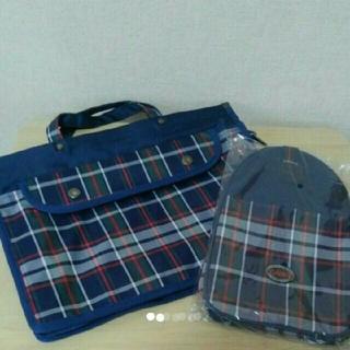 子供トートバッグ、シューズ入れセット(送料¥700込)(シューズバッグ)