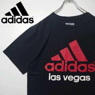 adidas - アディダス デカロゴ Tシャツ adidas N146