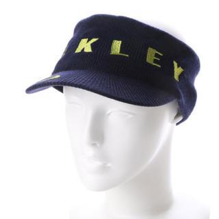 オークリー(Oakley)の40%オフ オークリー ニット サンバイザー ネイビーブルー 911753JP(サンバイザー)