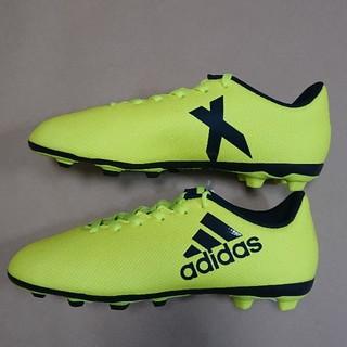 アディダス(adidas)のサッカーS 21.5cm アディダス X17.4FxG J(シューズ)