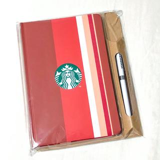 Starbucks Coffee - スターバックス ジャーナルブック ノート 手帳 ボールペン ストライプ スタバ