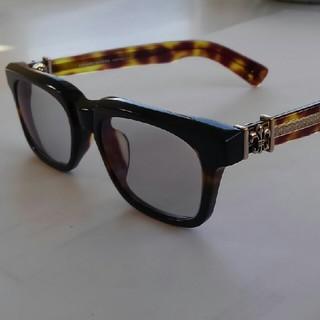 クロムハーツ(Chrome Hearts)のクロムハーツタイプ伊達メガネ調光レンズ入れ替え(サングラス/メガネ)