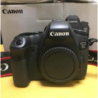 キヤノン(Canon)のcanon EOS 6D 本体(デジタル一眼)