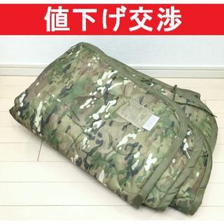 [米軍実物]新品放出品 マルチカム ポンチョライナー ブランケット(個人装備)