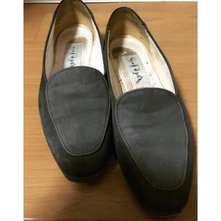 ナインウエスト(NINE WEST)のNINE WEST ナインウエスト フラット パンプス ローファー 8 24.5(ローファー/革靴)