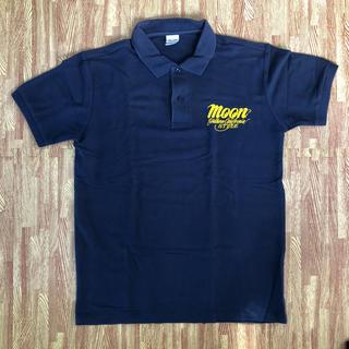 MOON EYES ポロシャツ Lサイズ ネイビー(ポロシャツ)