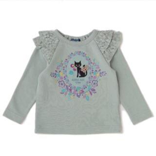 アナスイミニ(ANNA SUI mini)の新品 アナスイミニ 猫♡トレーナー sale(Tシャツ/カットソー)