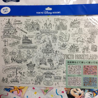 Disney - ディズニーリゾートファンマップ  ぬりえ