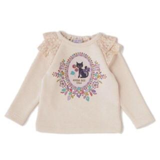 アナスイミニ(ANNA SUI mini)の新品 アナスイミニ 猫♡トレーナー 2月末まで価格(Tシャツ/カットソー)