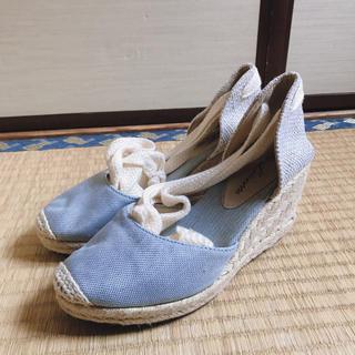 クリスプ(Crisp)のデニム 可愛いパンプス ハイヒール 靴 サンダル(サンダル)