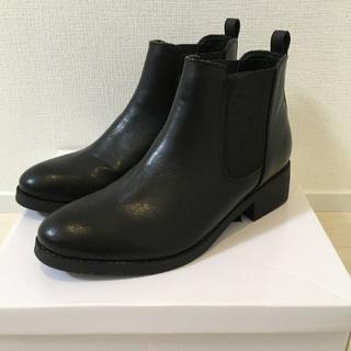 ローリーズファーム(LOWRYS FARM)のローリーズファーム 新品 ミドルブーツ M ブラック(ブーツ)