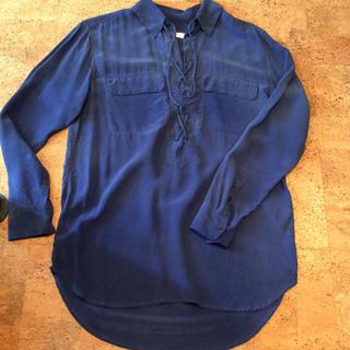 エキプモン(Equipment)のEquipment シルク オーバーサイズシャツ(シャツ/ブラウス(長袖/七分))