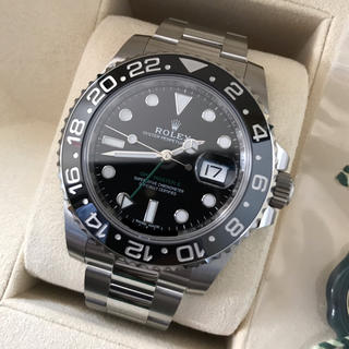 ロレックス(ROLEX)のロレックス  GMTマスター2 黒 116710LN(腕時計(アナログ))