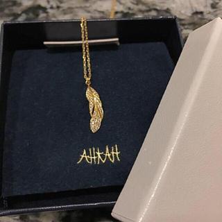 アーカー(AHKAH)のアーカー ウィング スイング  ロング ネックレス(ネックレス)