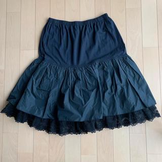 アルベロ(ALBERO)のアルベロベロ 裾レーススカート(ひざ丈スカート)