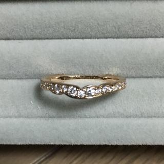 ニワカ(俄)の最終価格!俄 NIWAKA K18PG「花麗」ダイヤモンド