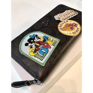 コーチ(COACH)のコーチ 新品 ディズニー限定 長財布(財布)