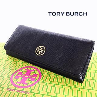 トリーバーチ(Tory Burch)の美品 TORY BURCH 長財布 カーフスキン(財布)