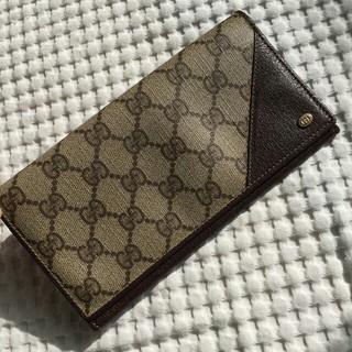 グッチ(Gucci)のオールドグッチ GUCCI 長財布 (財布)