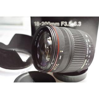 ペンタックス(PENTAX)のペンタックス SIGMA シグマ AF18-200mmDC(レンズ(ズーム))