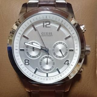 ゲス(GUESS)の稼働中 GUESS ゲス クロノグラフ ビッグフェイス メンズ腕時計(腕時計(アナログ))