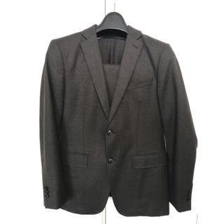 スーツカンパニー(THE SUIT COMPANY)のスーツセレクトのブラウンスーツA6(セットアップ)