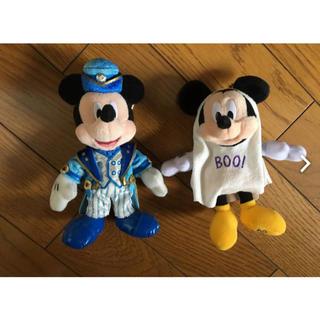 ディズニー(Disney)のミッキーぬいぐるみバッチ(キャラクターグッズ)