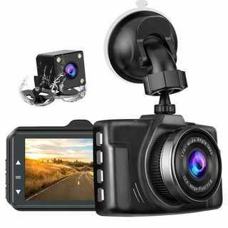 chortauドライブレコーダー 2カメラ 3.0インチ 1080PフルHD(セキュリティ)
