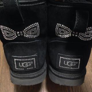 アグ(UGG)のアグ ショートブーツ ストーン付き 23センチ(ブーツ)